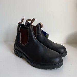 Blundstone 500 Boots In Stout Brown